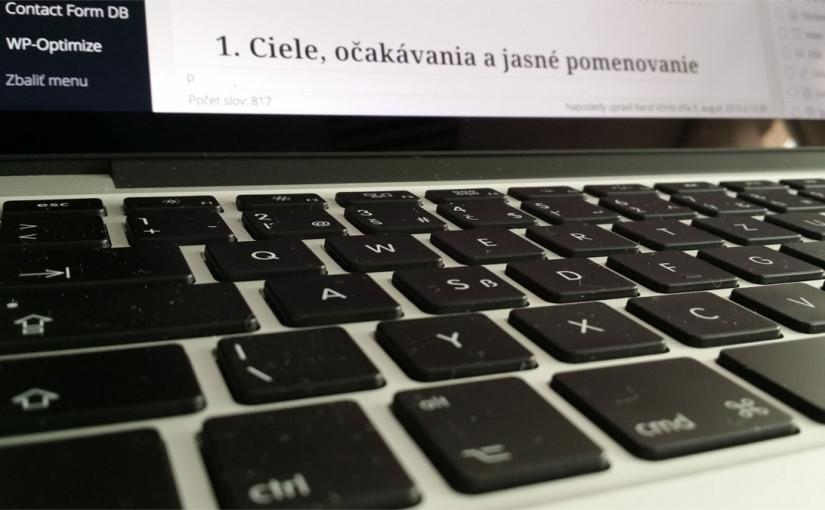 návrh webu