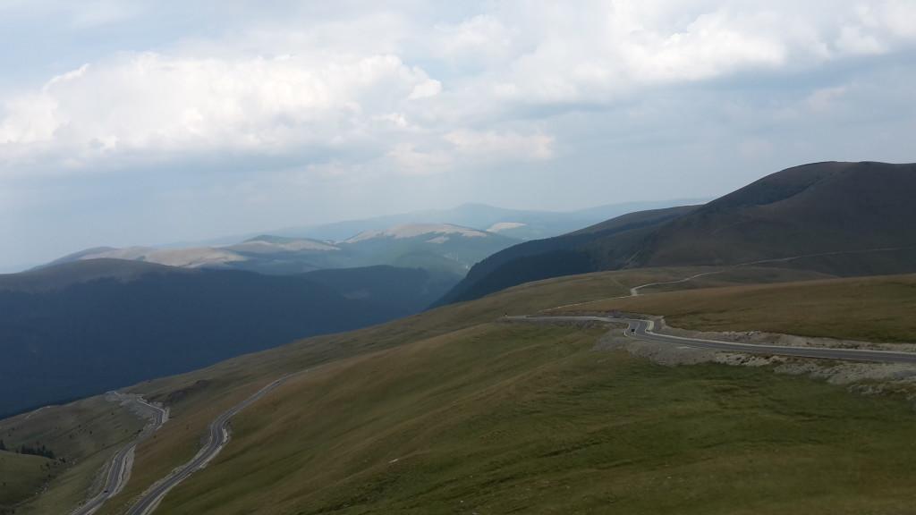 transalpina cesta a výhľad