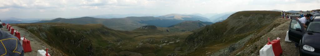 transalpina panorama