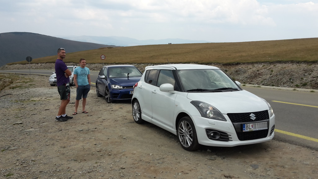 Suzuki Swift Sport & Golf R Transfagarasan