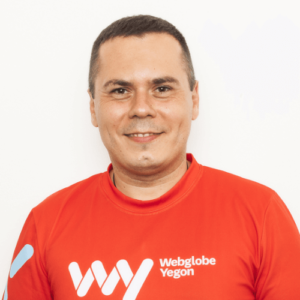 Igor Strečko, ceo Webglobe - Yegon