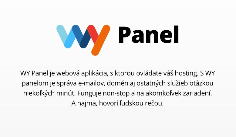 Ukážka z webu: WY Panel