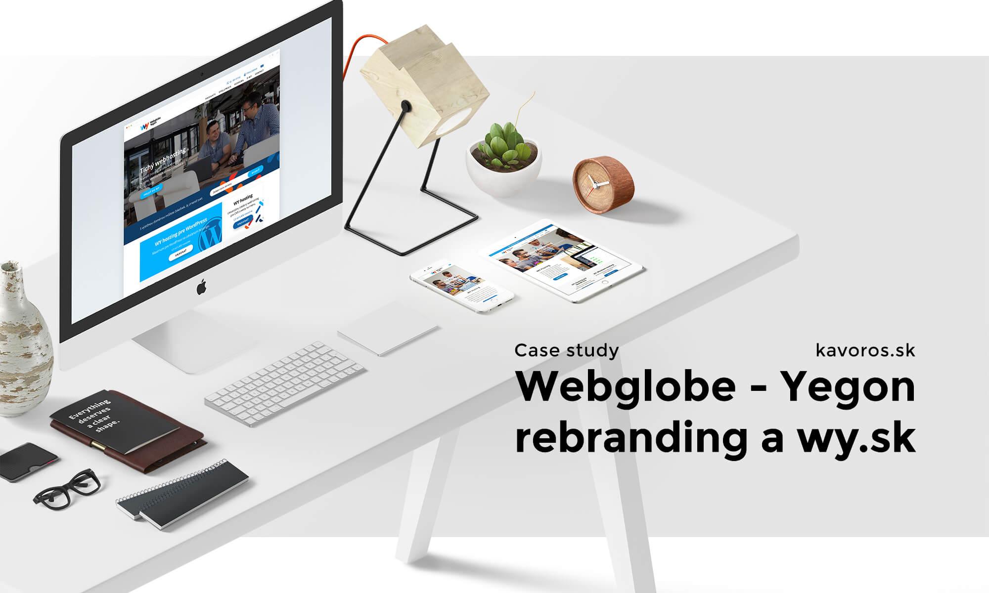 Rebranding Webglobe - Yegon