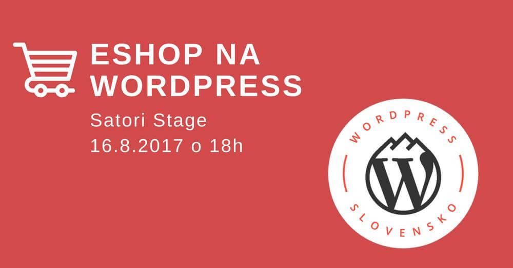 Katarína Novotná - Eshop na WordPress (WordPress Meetup)