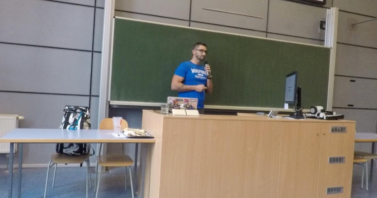 Karol Vörös na WordCamp Brno 2017
