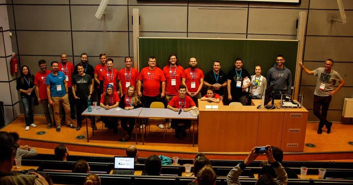 Organizátori a speakri na WordCamp Brno 2017