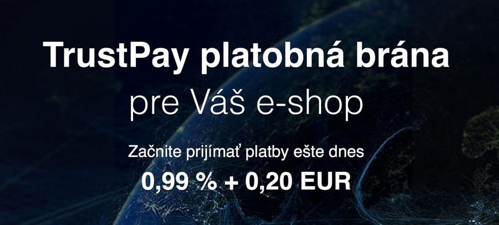 Podmienky TrustPay pre e-shop