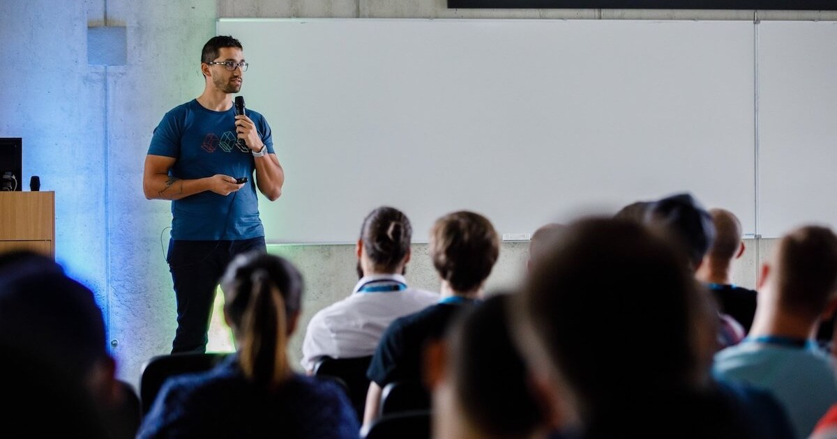 Karol Vörös @ WordCamp Košice 2018