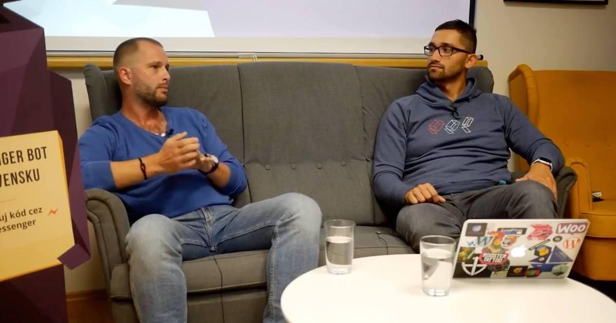 Peter Chodelka & Karol Vörös @ WebSupport event Silné weby 10/2018