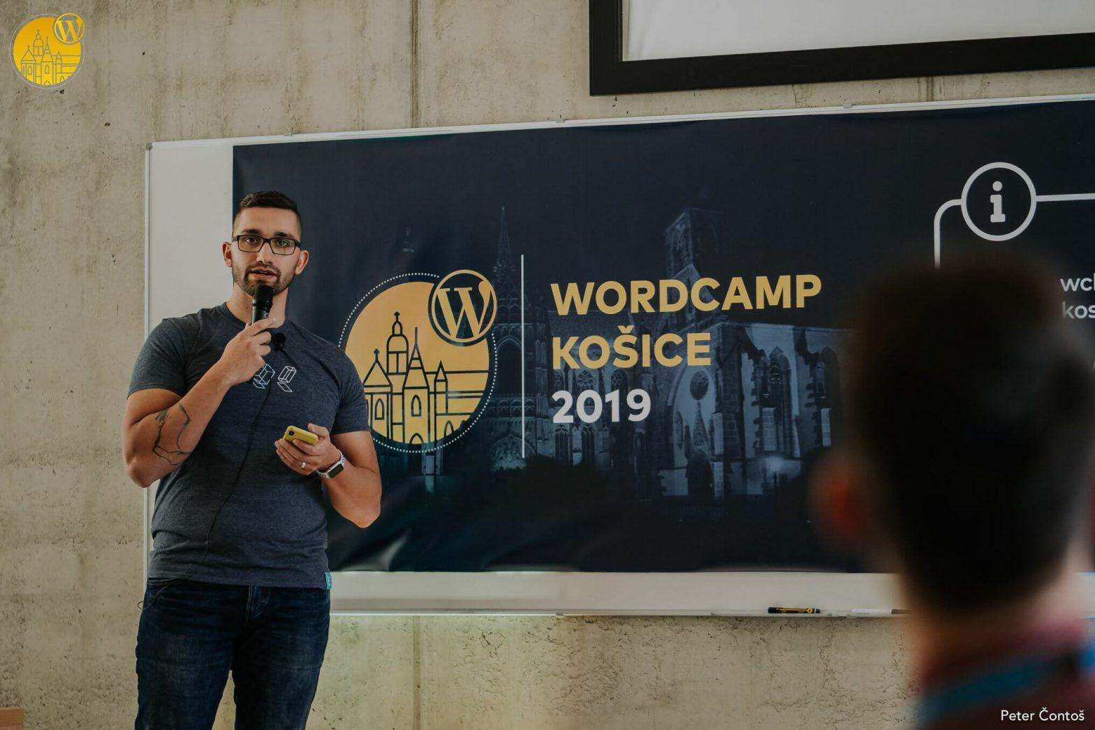 Karol Vörös @ WordCamp Košice 2019